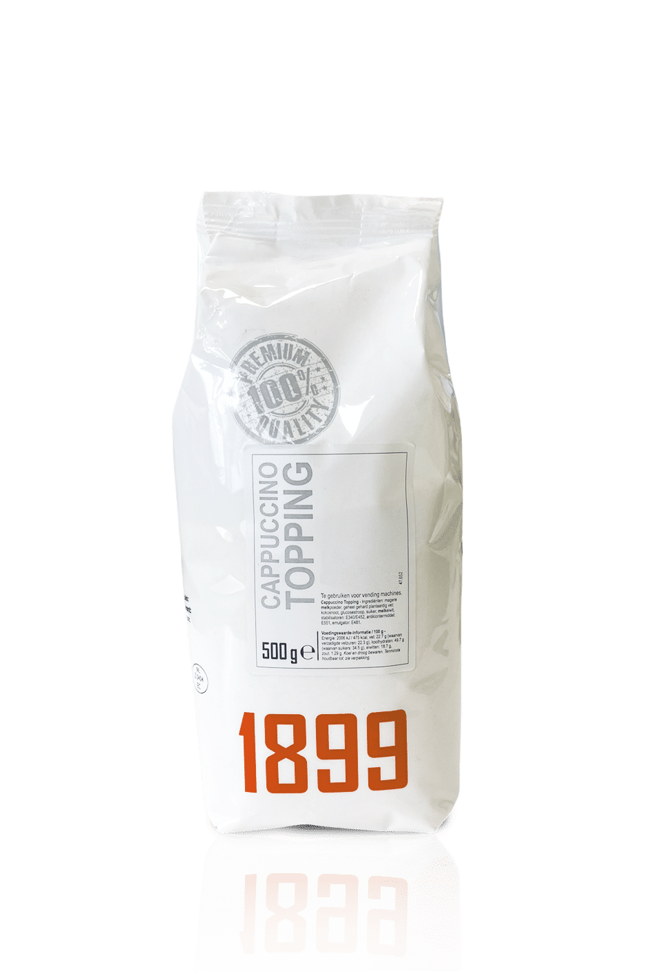 1899 Cappuccino Topping